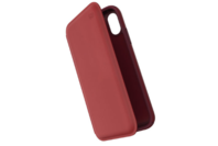 Speck iPhone XR Presidio Folio Leather Case Red