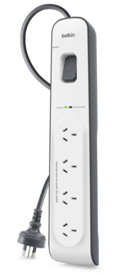 Belkin 4-outlet Surge Protection Strip with 2M Power Cord