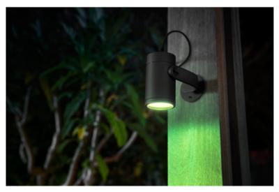 Hue756501 philips hue lily outdoor spot light starter pack 3