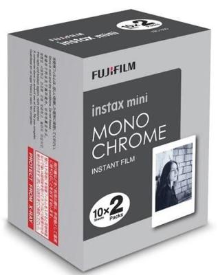 Fujifilm Instax Mini Film 20 Pack Monochrome