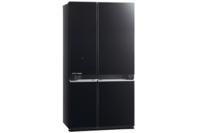 Mitsubishi 710L Four Door Refrigerator Glass Black