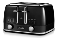 Sunbeam New York Collection 4 Slice Toaster Black