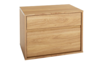 Platform10 Moda Two Drawer Bedside Table