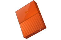 WD My Passport 4TB USB 3.0 External HDD Orange