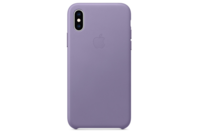 Apple iPhone XS Leather Case - Lilac
