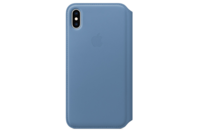 Apple iPhone XS Max Leather Folio - Cornflower