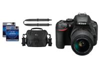 Nikon D5600 D-SLR Camera Package
