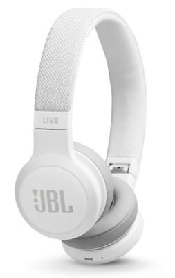 JBL LIVE 400BT Wireless On-Ear Headphones White
