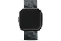 Fitbit Versa 2 Special Edition Health & Fitness Smartwatch (Smoke Woven / Mist Gray Aluminum)