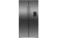 Fisher & Paykel 605L Quad Door Fridge Freezer - Black