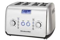 KitchenAid 4 Slice Toaster - Stainless Steel (Ex-Display Model Only)