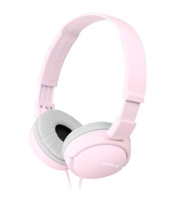 SONY ZX110 Smartphone Headphones - Pink