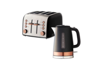 Russell Hobbs Brooklyn Kettle & 4 Slice Toaster - White