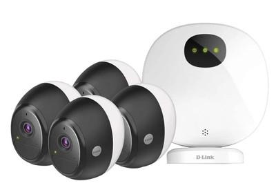 Dlink Dcs 2804kt Omna Wire Free Indoor Outdoor Camera Kit