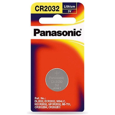 Panasonic 3v Lithium Coin Battery 1 pack