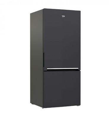 Beko 450l anthracite bottom mount fridgefreezer 2