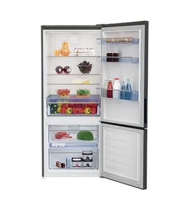 Beko 450l anthracite bottom mount fridgefreezer 3