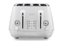 Delonghi Distinta Moments Four Slice Toaster - White