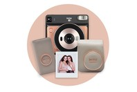 Fujifilm Instax SQ6 Blush - Gold Deluxe Pack