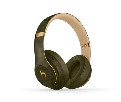 Beats studio3 beats camo collection   forest green %284%29