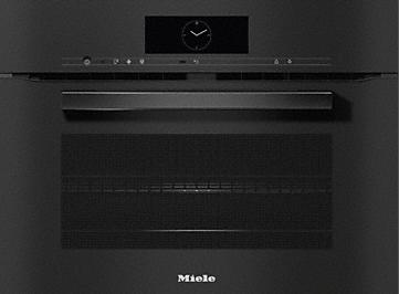 Miele VitroLine Obsidian Black Speed Oven