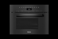 Miele VitroLine Obsidian Black Steam Oven with Microwave