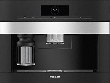 Miele CVA 7440 PureLine CleanSteel Coffee Machine