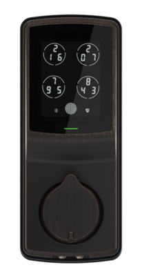 Lockly Secure Plus Deadbolt lock - Fingerprint,BT, Passcode Patent VB