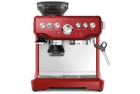 BREVILLE BES870 COFFEE MACHINE RED