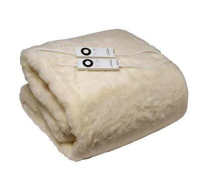 Sunbeam Super King Wool Fleece Electric Blanket
