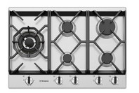 Westinghouse 75cm 5 burner stainless steel gas cooktop