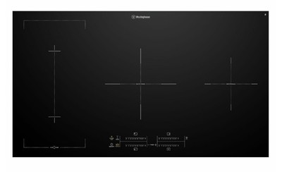 Westinghouse 90cm 4 zone induction cooktop with BoilProtect