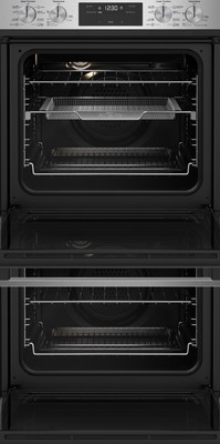 Westinghouse 60cm multi function double oven with airfry  stainless steel %287%29