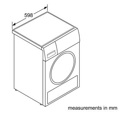 Bosch 8kg heat pump dryer %283%29