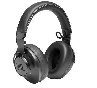 JBL CLUB One Noise-Canceling Wireless Over-Ear Headphones - Black