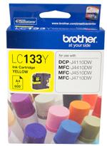 Brother Ink 600 yield Cartridge - Yellow