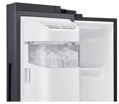 Samsung 656l side by side fridge   black 9
