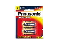 Panasonic Alkaline Batteries 2 X C