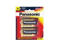 Panasonic Alkaline Batteries 2 X D