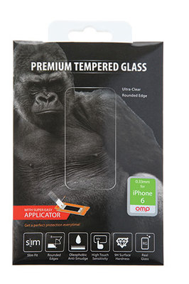 OMP iPhone 6 4.7 inch Premium Tempered Glass Screen Protector