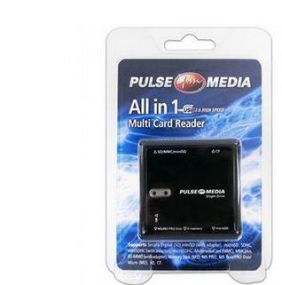 Media All-in-1 Multicard Reader - Black
