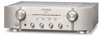Marantz 2Ch Integrated Amplifier with new Phono-EQ - Silver