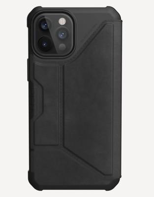 UAG metropolis - iPhone 12 / 12 Pro - leather Black