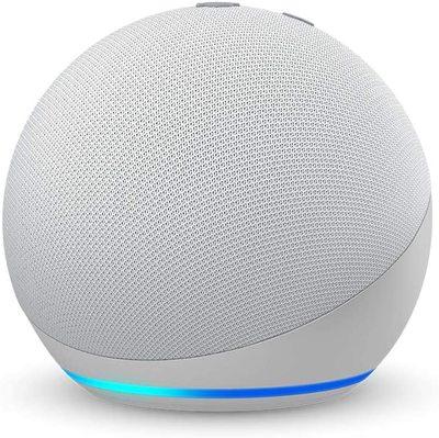 Amazon Echo Dot (4th Gen) Smart Speaker with Alexa - Glacier white
