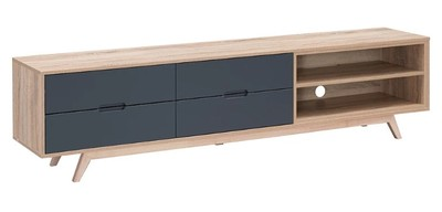 Tuscany 2000 TV cabinet - Grey