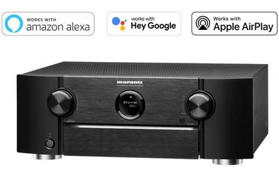 Marantz 9.2ch. 8K AV Receiver with HEOS Built-in and Voice Control