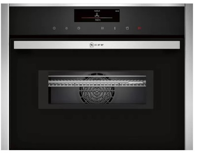 NEFF 60cm Pyrolyric Compact Oven with Microwave and Variosteam