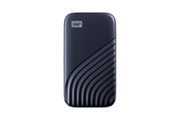 WD My Passport SSD, 2TB, USB 3.2 Gen-2 HDD - Blue