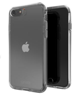 Gear4 - Crystal Palace Case for Apple iPhone iPhone SE / 8 / 7 / 6s / 6 - Clear