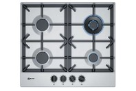 NEFF 60cm N70 Gas cooktop - Stainless steel